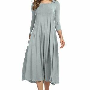 Midi Dress Solid
